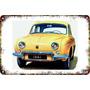 Carteles Antiguos Chapa 60x40cm Renault Gordini Au-691