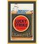 Carteles Antiguos Chapa Gruesa 30x45cm Lucky Strike Ci-054