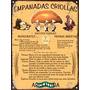 Cartel De Chapa Vintage Retro Receta Empanadas Criollas L319