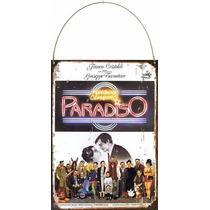 Cartel De Chapa Cine Cinema Paradiso P910