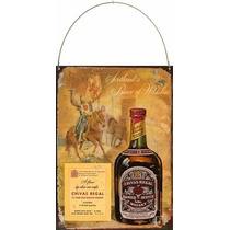 Cartel Chapa Publicidades Antiguas Whisky Chivas Regal P517