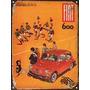 Cartel De Chapa Publicidad Antigua Fiat 600 P202