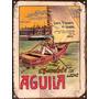 Chapa Vintage Publicidad Antigua Chocolate Aguila M617