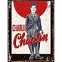 Cartel Chapa Vintage Publicidad Antigua Charles Chaplin L063