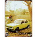 Cartel Chapa Publicidad Antigua 1975 Opel K 180 P209
