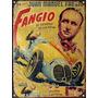 Cartel De Chapa Publicidad Antigua Fangio M147