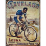 Chapa Publicidad Antigua Bicicleta Bici Cleveland P253