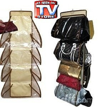 Organizador De Carteras, Bolsos De Tv Creador Shoes Under