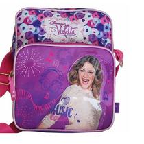 Mochila Cartera Morral Violetta Disney Licencia Original!