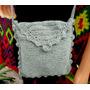 Bandolera Carterita Artesanalmente Hecho A Crochet.!!!