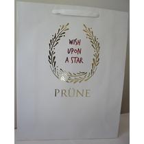 Lote X 5 Bolsas Blancas Prune Navidad, Grande 40x50x14cm