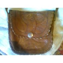 Carterita De Cuero-artesania Boliviana