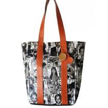 Clippate Bolsos Carteras Tote Bag En Eco Cuero Mujer Verano