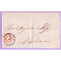 Carta De España Circulada A Palencia