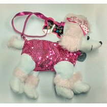 Cartera Perro Caniche Peluche Para Nena Super Glam Dog Bag