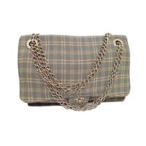 Clippate Cartera Tweed Chanel Franela Cadenas Envío Gratis