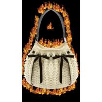 New Carterita Tejida Crochet Vestir Iman Y Cierre Deslizador