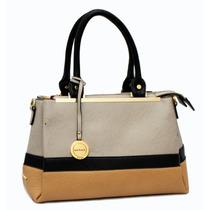 Cartera Importada Elegante Diseño Combinado Calidad Premium