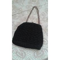 Cartera Vintage Color Negra