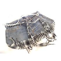 Cartera Morral Jeans Hecho A Mano A Partir De Una Minifalda