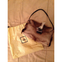 Cartera Fendi De Pelo. Original. Impecable Estado