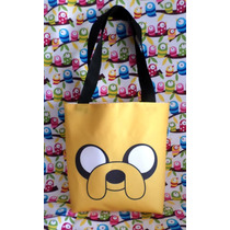 Mini Tote Bag Cartera De Hora De Aventura: Jake