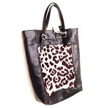 Cartera Tote Animal Print, Miscellaneous By Caff