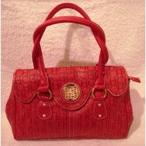 Cartera Importada - Color Rojo - Muy Amplia - Imperdible!!!