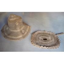 Conj.de Sombrero Y Cartera/sobre De Fibra -ideal Vestuarista