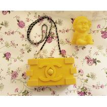 Cartera Importada - Clutch Lego Perfum - Únicas