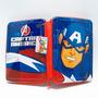 Cartuchera Avengers Marvel 2 Pisos Tapa Metalica Sp224