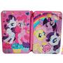 Cartuchera My Little Pony 2 Pisos Tapas Metal Giro Didáctico