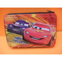 Cartuchera Cars Disney Metalica 2 Pisos Original