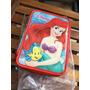 Cartuchera Canopla Disney Princesa Ariel La Sirenita 3 Pisos