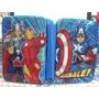 Cartuchera Metalica 2 Pisos Avengers Assemble Marvel 2015