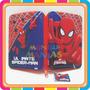 Cartucheras Vengadores Hombre Araña 1 Piso Lata Mundo Manias