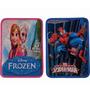 Cartuchera 2 Piso Frozen Monster High Spiderman