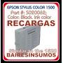 Recarga Epson Cartuchos Para Stylus Color 1500 1520 Series