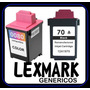 Lexmark 1970 + 1980 Combo Neg Y Col Genéricos + Envió