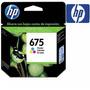 Hewlett Packard Inkjet Hp 675 Col Cn691al Vto 9/15