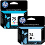 Cartucho Hp 74 Negro + Hp 75 Color Original Cb335wl+ Cb337wl