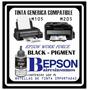 Botella De Tinta Epson Negra M105 Y M205 X100 Ml Compatible