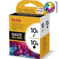 Cartuchos Kodak Serie 10 Combo Negro + Color Esp 3 5 7 6150