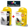 Promo Kodak 10 Negro + 10 Color Originales C110 C310