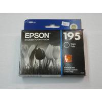 Epson 195 Negro Cartuchos T195120 Xp-20 101 201 211