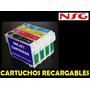 Cartuchos Epson Recargables T 0631-32-33-34- T 0461-72-73-74