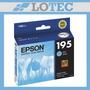 Cartucho Epson Original Cyan 195 T195220 Xp211 Xp201
