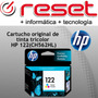 Cartucho Hp 122 Ch562hl Tinta Color Original Impresora 3050