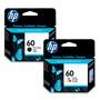 Cartuchos Hp 60 Negro + 60 Color - Combo Originales En Caja