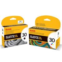 Cartuchos Kodak 30 Combo Negro+color Original C110 C310 2150